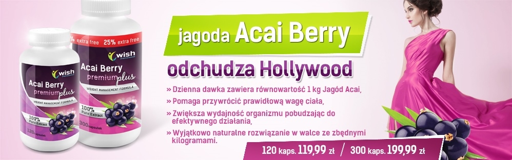 Jagoda Acai Berry Power Premium Plus , Acai berry 900